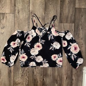 Floral strapy top